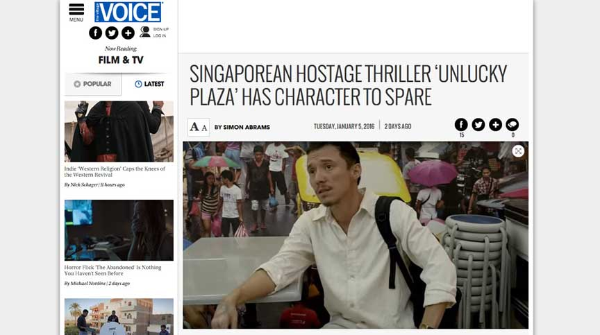 01.05Ken Kwek s Singaporean Hostage Thriller 'Unlucky Plaza' Has Character to Spare   Village Voice